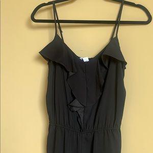 Black spaghetti strap Jumpsuit